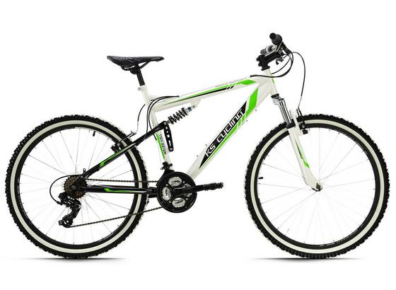 Mountainbike Mtb Fully 26'' Scrawler 568m - Basics, Metall (180/70cm)