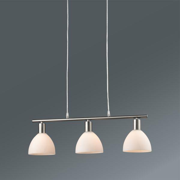 Závesná Lampa Jakob - Konvenčný, kov/sklo (64,5/90cm) - MÖMAX modern living