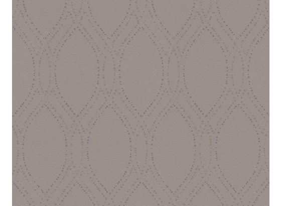 Tapeta Vliesová  30599-2 - strieborná, Konvenčný, papier (53/100.5cm)
