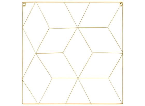 Klipový Rám Larissa - barvy zlata, Design, kov (50/50cm)