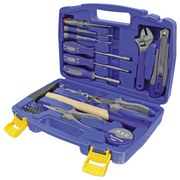 Werkzeugset 3648, 31-Teilig - Blau, MODERN, Kunststoff/Metall (31/7/21cm) - Erba