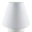 Stolová Lampa Irma - krémová, Romantický / Vidiecky, textil/sklo (18/25cm) - Mömax modern living
