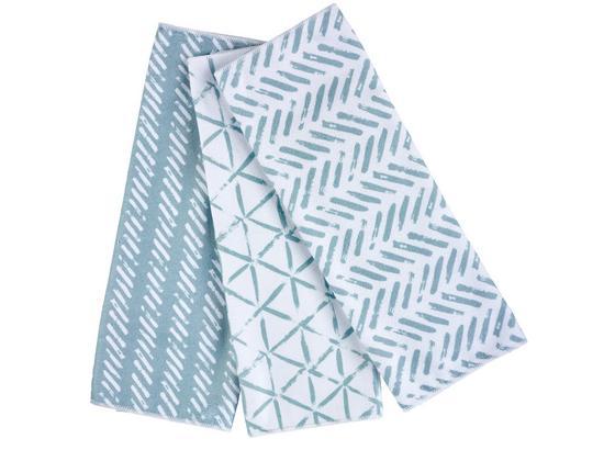 Sada Utierok Na Riad Mike -ext-, 3-dielna - sivá/tmavomodrá, Moderný, textil (40/60cm) - Mömax modern living
