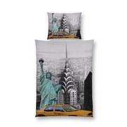 Bettwäsche New York - Multicolor, MODERN, Textil - LUCA BESSONI