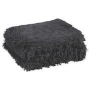 Kuscheldecke Carina - Anthrazit, KONVENTIONELL, Textil (150/200cm) - LUCA BESSONI