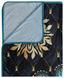 Kuscheldecke Lavanya - Blau, Textil (130/160cm)
