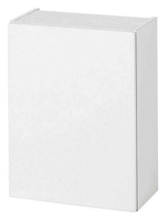Hängeschrank Siena 40 cm Weiß - Weiß, MODERN, Holzwerkstoff (40/65/20cm)
