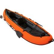 Kajak Hydro-force Ventura - Schwarz/Orange, MODERN, Kunststoff/Metall (330/94/48cm) - Bestway