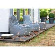 Outdoorsitzsack Slope B: 85 cm Hellgrau - Hellgrau, Basics, Kunststoff (85/90/85cm) - Ambia Garden