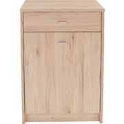 Komoda 4-you Yuk02 - barvy dubu, Moderní, dřevěný materiál (50/85,4/34,6cm)