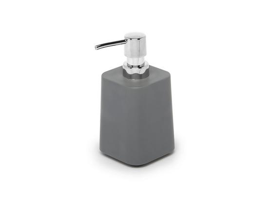 Dávkovač Mýdla Lilo - šedá, Moderní, umělá hmota (8,38/8,38/16,38cm) - Mömax modern living