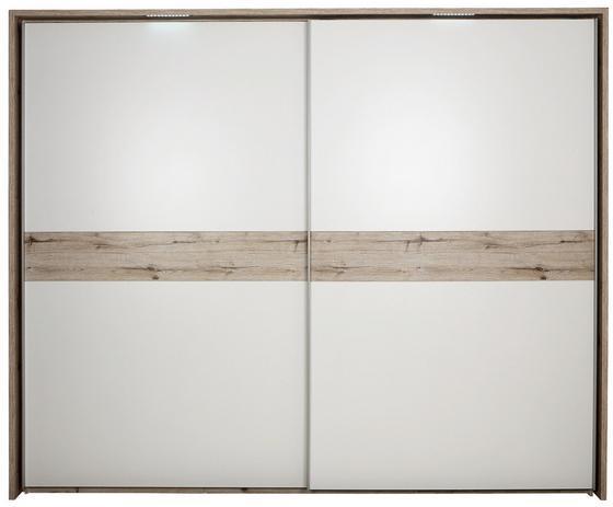 Díszkeret Julia - tölgy színű, konvencionális, faanyagok (280/229cm)