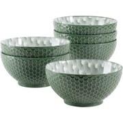 Schüsselset Telde 6-Tlg. Grün - Grün, Basics, Keramik (15,4cm) - Mäser