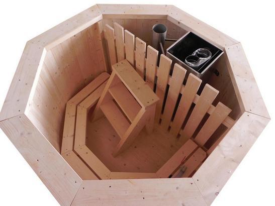Hot Tub aus Holz für daheim