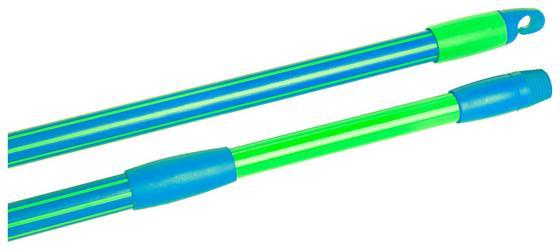 Teleskopstiel 2k - Blau/Grün, KONVENTIONELL, Metall (130/2/2cm) - Ombra
