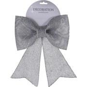 Dekoschleife Carmen - Silberfarben, MODERN, Kunststoff (22/24cm)
