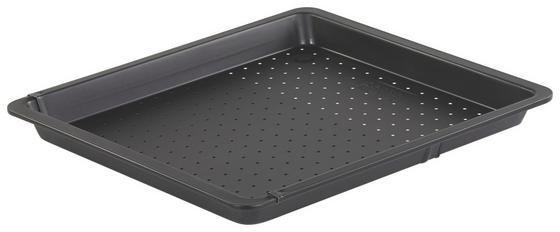Sütőlemez 3482 - fekete, konvencionális, fém (36,5-52/33,5/3cm)