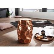 Beistelltisch D: ca. 30cm Kupferfarben - Kupferfarben, LIFESTYLE, Metall (30/47/30cm) - Carryhome