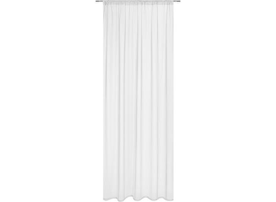 Záves Thea - biela, Romantický / Vidiecky, textil (145/245cm) - Mömax modern living