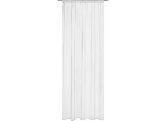 Závěs Thea - bílá, Romantický / Rustikální, textil (145/245cm) - Mömax modern living