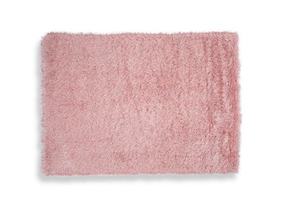 Hochflorteppich Glossy - Rosa, Basics, Textil (80/150cm) - Luca Bessoni