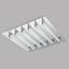 LED-Deckenleuchte Velarde - Klar/Chromfarben, MODERN, Glas/Metall (47/47/7,5cm)