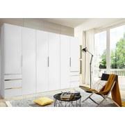 Drehtürenschrank Level 36a 300cm Weiß - Weiß, MODERN, Holzwerkstoff (300/216/58cm)