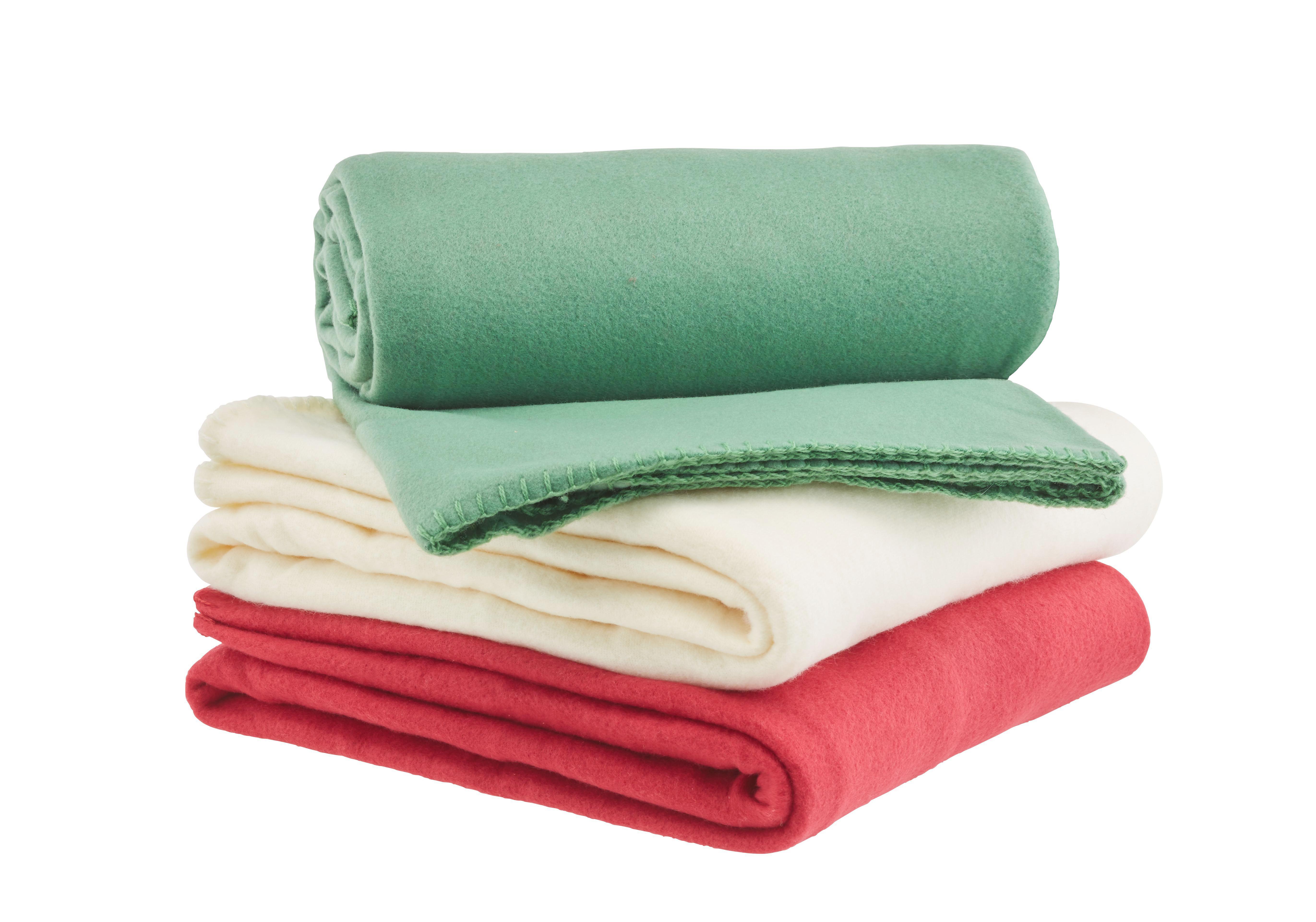Fleecová Přikrývka Trendix - zelená, textil (130/180cm) - MÖMAX modern living