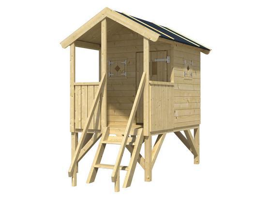 Favorit Stelzen-Spielhaus mit überdachter Veranda KY79
