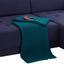 Wohnlandschaft Bravo - Chromfarben/Schwarz, MODERN, Textil (237/180cm) - Ombra