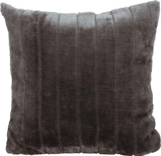 Díszpárna Emma - Szürke, konvencionális, Textil (45/45cm) - Ombra