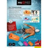 Schwimmkissen Maxxmee Schwimmboje Blau - Blau, Basics, Kunststoff (37,5/72cm)