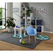 Kinderstuhl Bambino Style Hellblau - Birkefarben/Hellblau, MODERN, Holz/Kunststoff (42/57,5/30cm) - Ombra