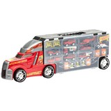 Spielzeugauto Feuerwehr - Gelb/Rot, Basics, Kunststoff/Metall (56,5/11,5/18cm)
