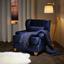 Tv Kreslo Matteo - modrá, Moderní, dřevo/textil (86/86/90cm) - Mömax modern living