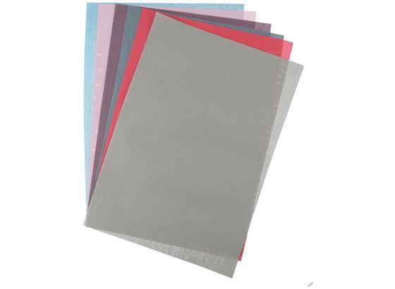 Tischset Lina 43x30 cm - Pink/Pastellblau, KONVENTIONELL, Kunststoff (43/30/0,1cm)