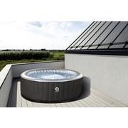Whirlpool Aufblasbar London Ø 165 cm - Schwarz, Basics, Kunststoff (165cm)