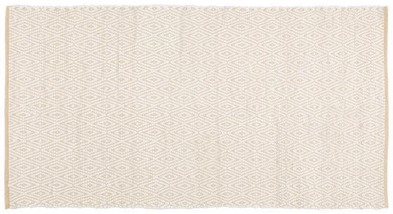 Koberec Ručně Tkaný Carmen 1 - béžová, textil (60/120cm) - Mömax modern living