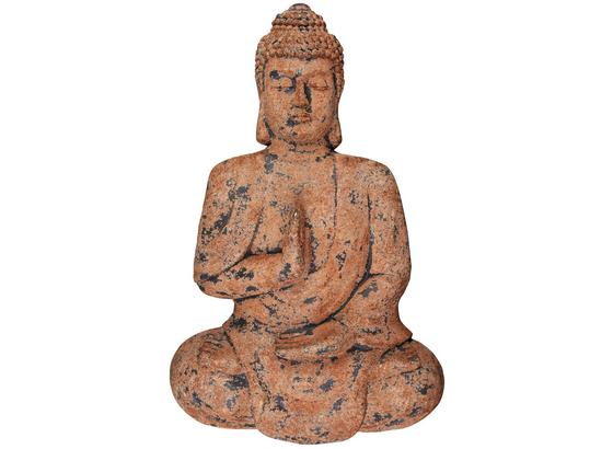 Dekorace Nástěnná Buddha - rezavá/hnědá, kámen (72/11,5/43cm) - Mömax modern living