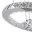 Led Závesná Lampa Forli 100-150cm, 24 Watt - chrómová, Moderný, kov/plast (40/100-150cm) - Mömax modern living
