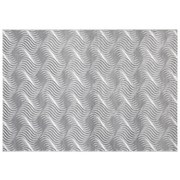 Webteppich Hellgrau Tyene 80x150 cm - Hellgrau, MODERN, Textil (80/150cm) - Ombra