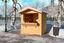 Marktstand aus Fichte für Punsch und Glühwein 170cm - Naturfarben, MODERN, Holz (170/218/180cm)