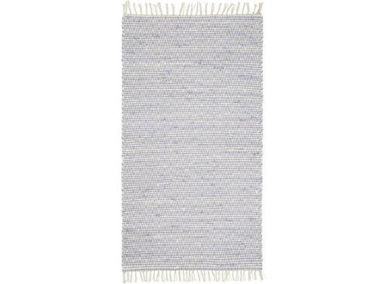 Ručné Tkaný Koberec Mary 1 - modrá, Romantický / Vidiecky, textil (60/120cm) - Mömax modern living