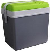 Kühlbox 24 Liter - Grau/Grün, MODERN, Kunststoff (35/25/39cm)