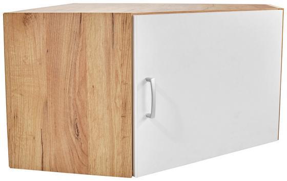 Aufsatzschrank Tio - Eichefarben/Weiß, KONVENTIONELL, Holzwerkstoff (80/80cm)