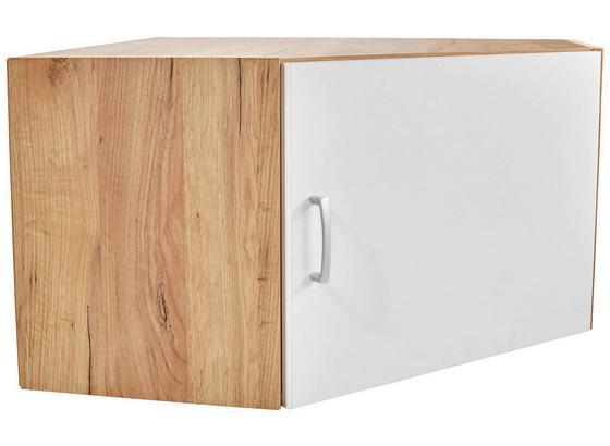 Nadstavec Na Skriňu Tio - farby dubu/biela, Konvenčný, kompozitné drevo (80/80cm)