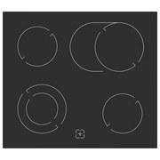 Herdset Bic4-2kg Gku Ix4 - Edelstahlfarben/Schwarz, Basics, Glas/Keramik (59,5/59,5/53,1cm) - Livetastic