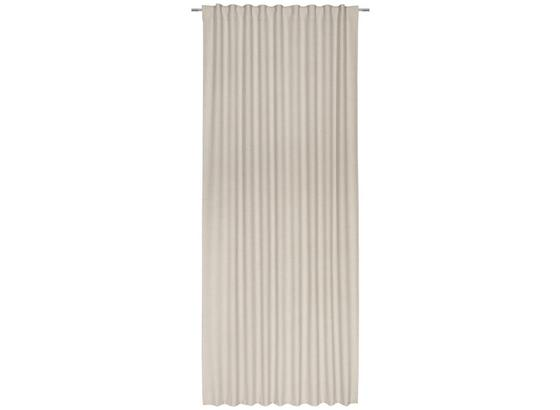 Závěs Leo -top- - pískové barvy, textil (135/255cm) - Premium Living