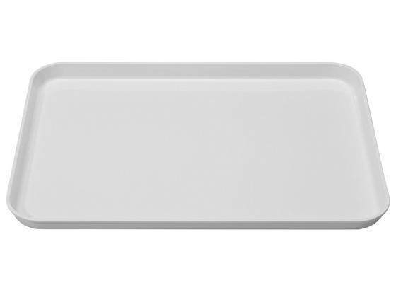 Tablett 30/41cm - Weiß, KONVENTIONELL, Kunststoff (30/2/41cm)