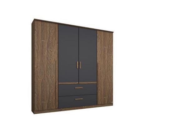 Skriňa Bernau 181 Cm - Moderný, kompozitné drevo (181/212/56cm)
